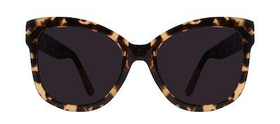 Affordable Fashion Glasses Square Sunglasses Women Marlo Espresso Front