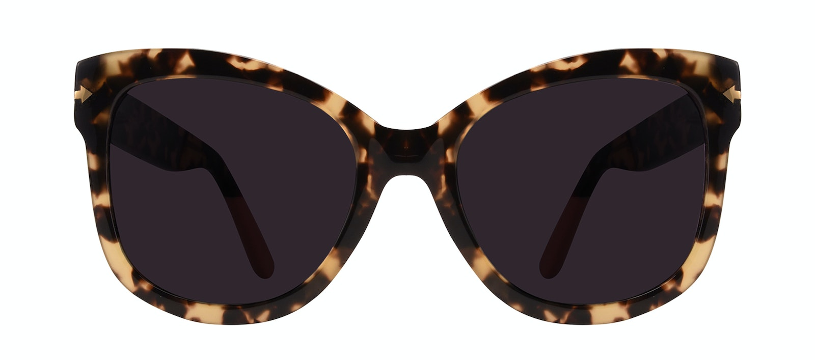 Affordable Fashion Glasses Square Sunglasses Women Marlo Espresso Front