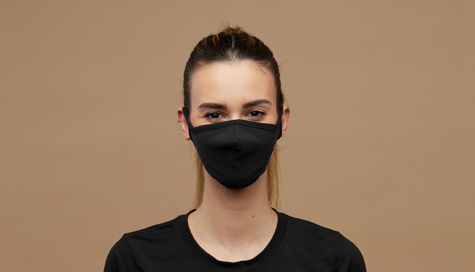 Lunettes tendance Accessoire Hommes Femmes BonLook Mask Black