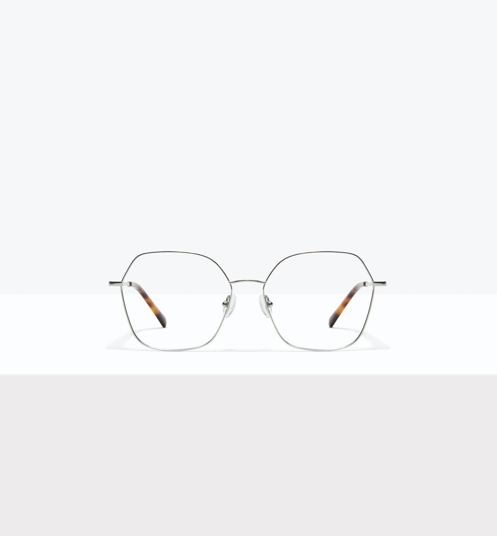 Affordable Fashion Glasses Square Eyeglasses Women Mersey Platinum