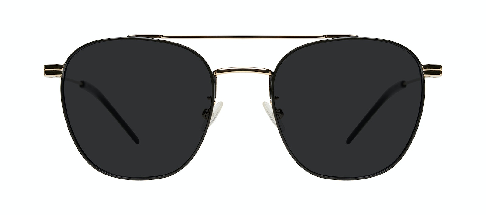 Affordable Fashion Glasses Aviator Sunglasses Men Miami Deep Gold Front