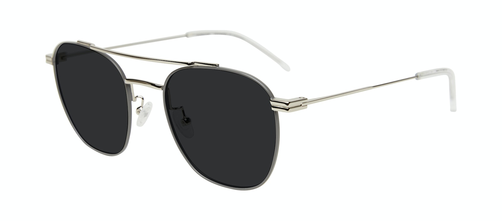Affordable Fashion Glasses Aviator Sunglasses Men Miami Silver Tilt