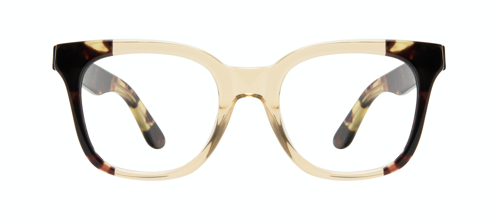 Affordable Fashion Glasses Square Eyeglasses Women Mighty Golden Tort Front
