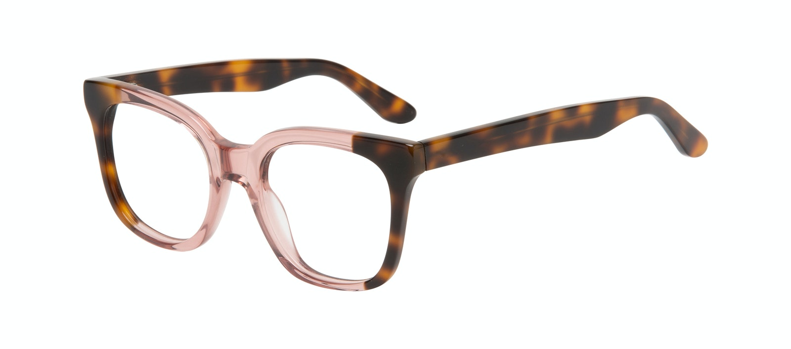 Affordable Fashion Glasses Square Eyeglasses Women Mighty Rose Tort Tilt