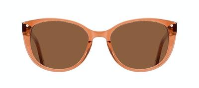 Affordable Fashion Glasses Cat Eye Sunglasses Women Mist Umber Front