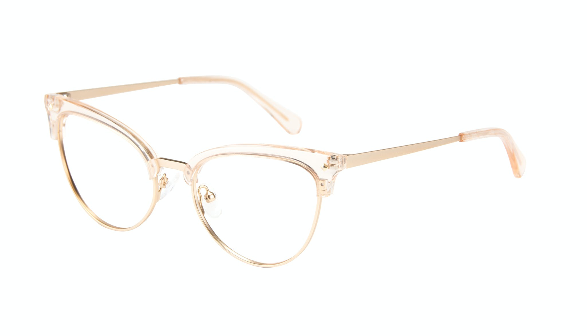 Affordable Fashion Glasses Cat Eye Daring Cateye Eyeglasses Women Moon Blond Tilt
