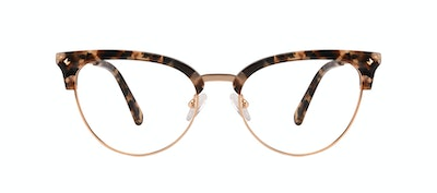 Affordable Fashion Glasses Cat Eye Daring Cateye Eyeglasses Women Moon Gold Flake Front
