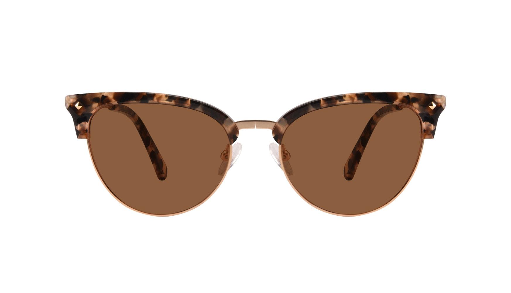 Affordable Fashion Glasses Cat Eye Daring Cateye Eyeglasses Women Moon Gold Flake