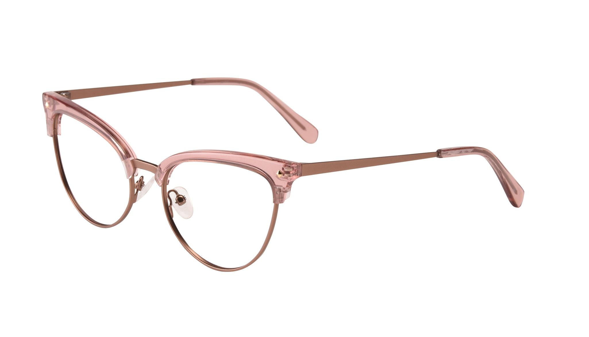 Affordable Fashion Glasses Cat Eye Daring Cateye Eyeglasses Women Moon Rose Tilt