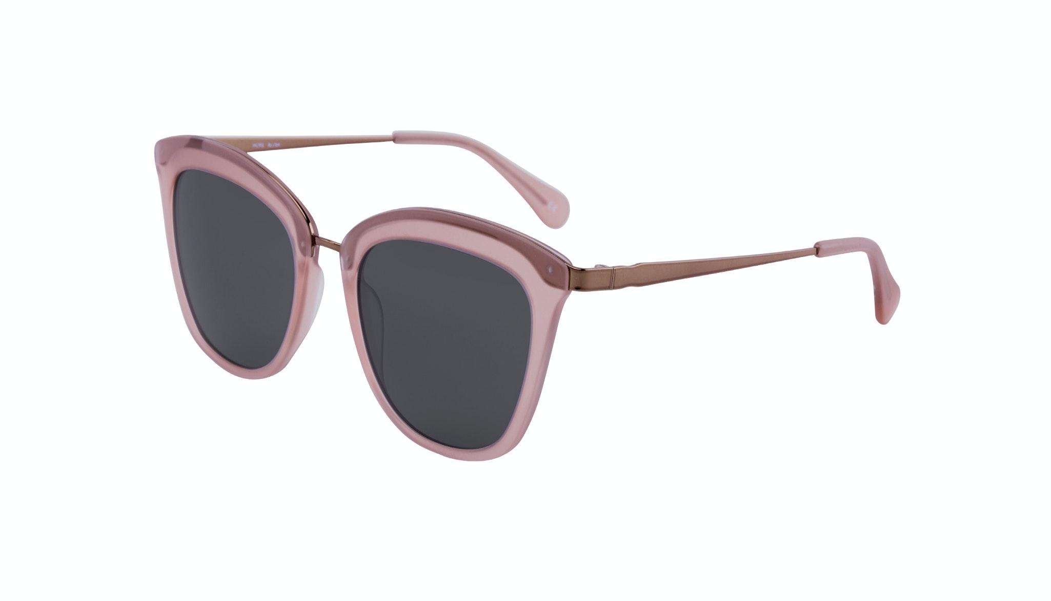 Affordable Fashion Glasses Rectangle Square Sunglasses Women More Blush Tilt