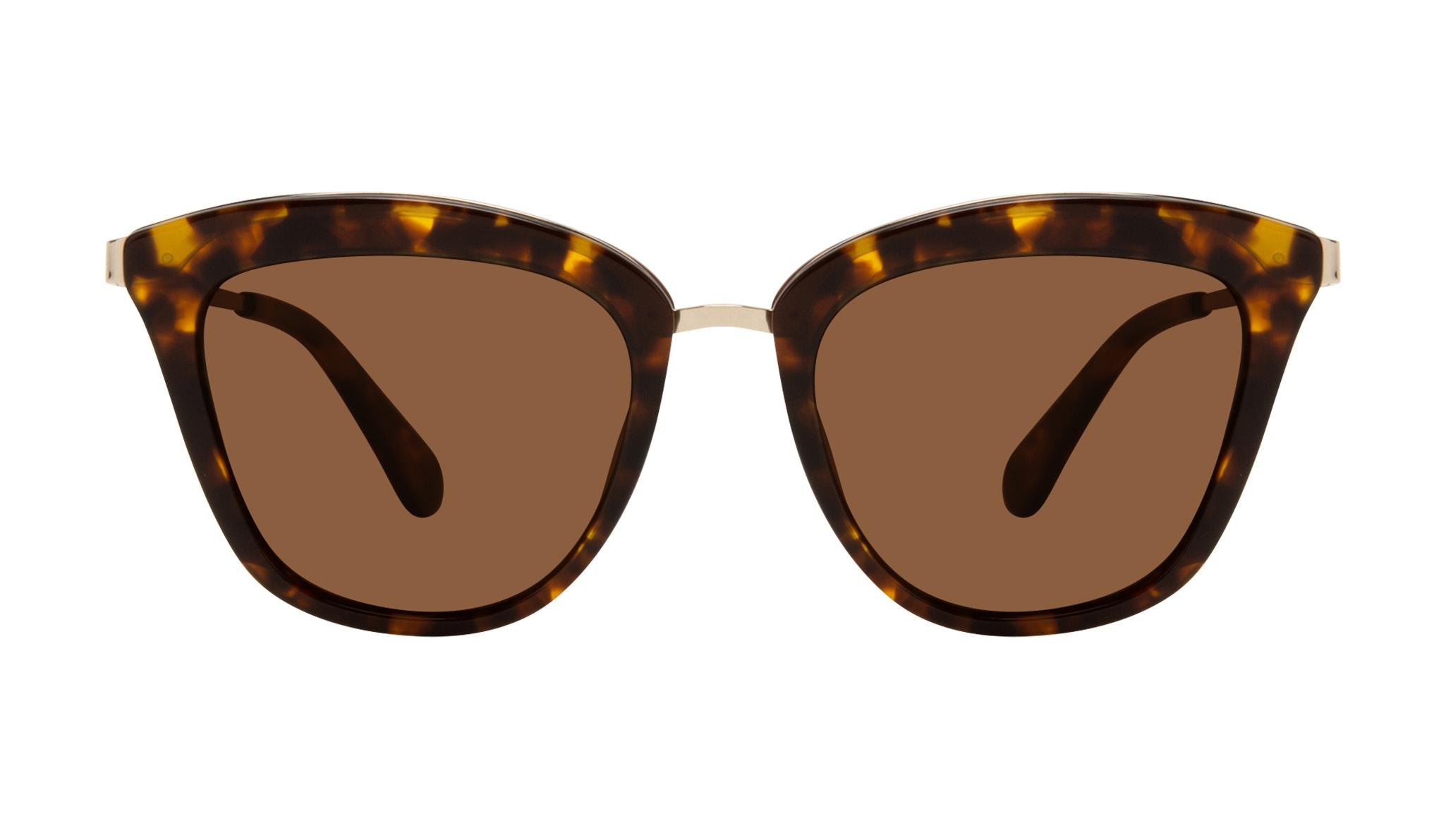 Affordable Fashion Glasses Rectangle Square Sunglasses Women More Tortoise Front