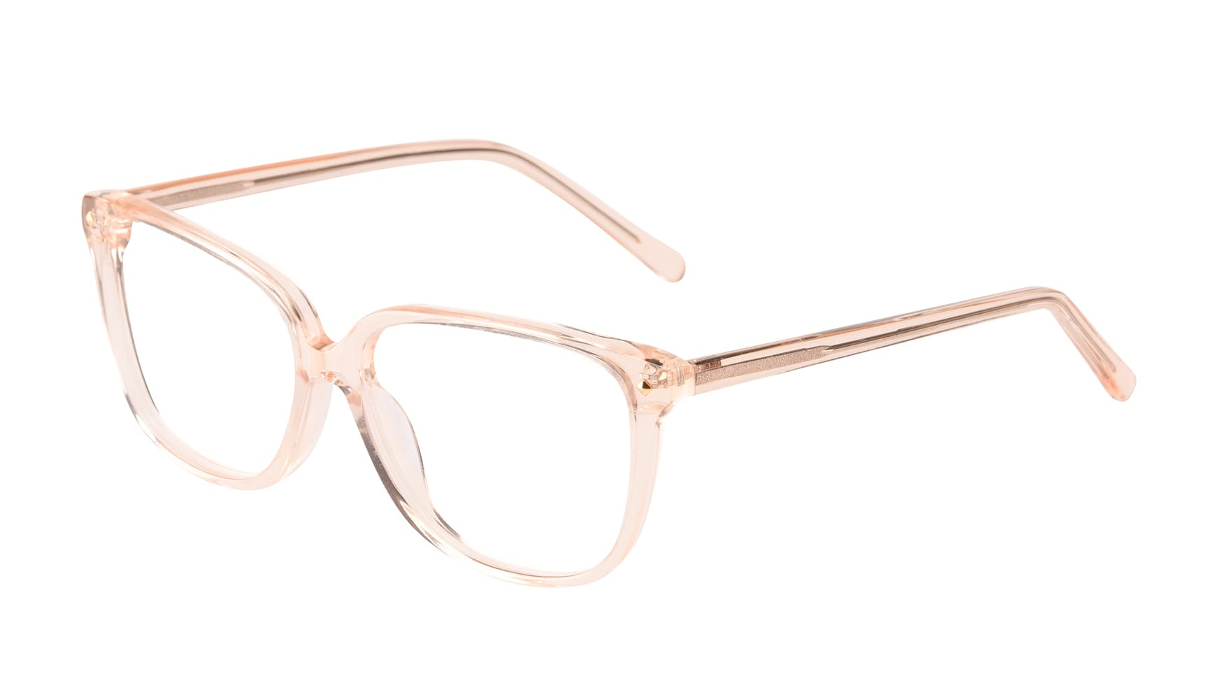 Affordable Fashion Glasses Rectangle Square Eyeglasses Women Muse Blond Tilt