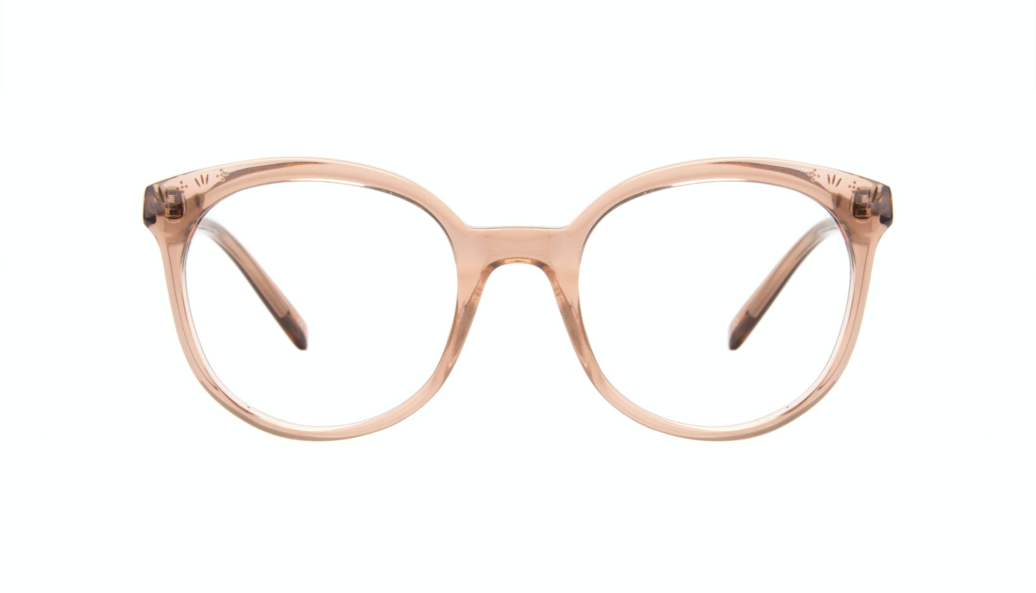 Affordable Fashion Glasses Round Eyeglasses Women Must Rose Front