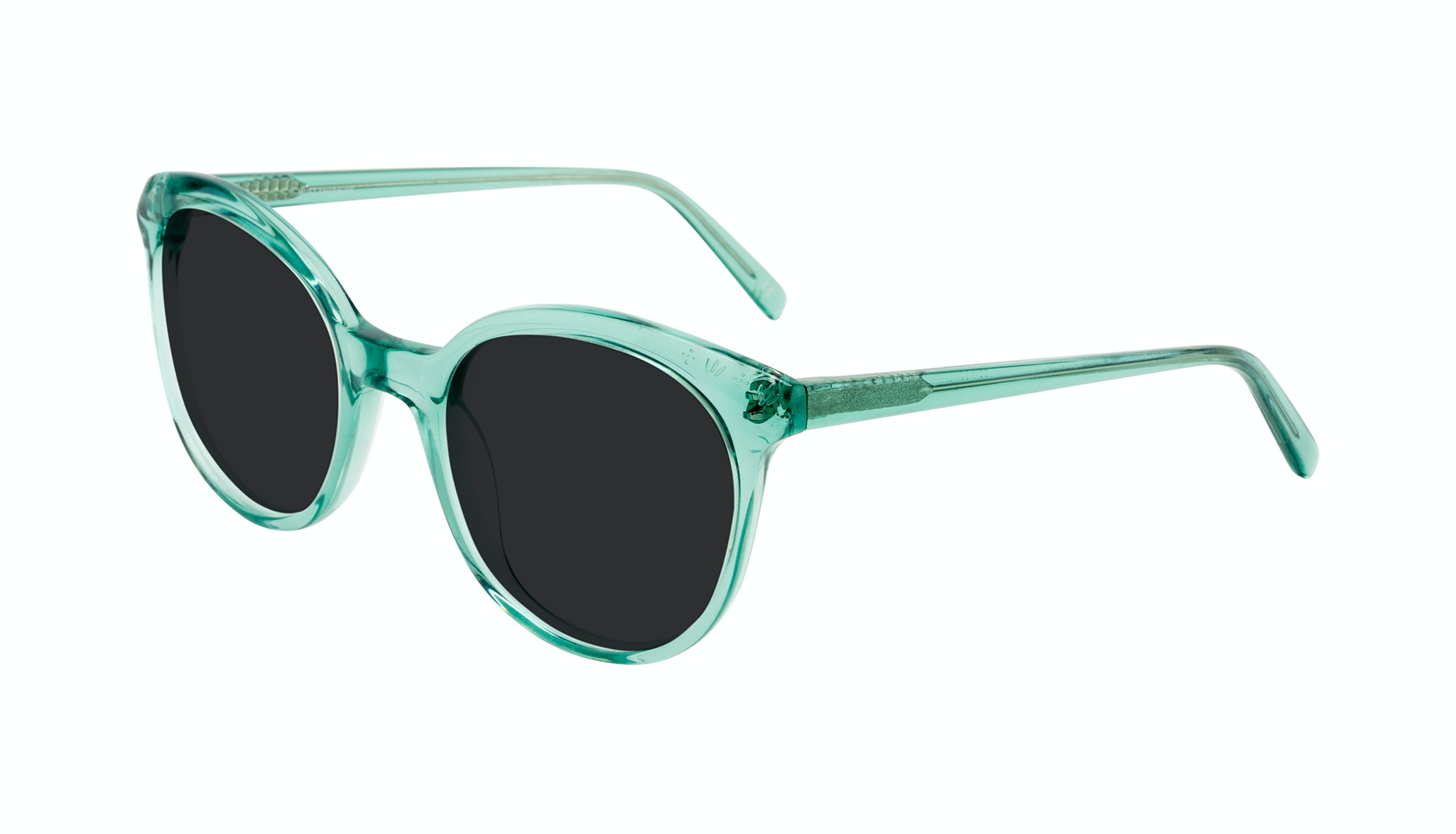 Affordable Fashion Glasses Round Sunglasses Women Must Emeraude Tilt