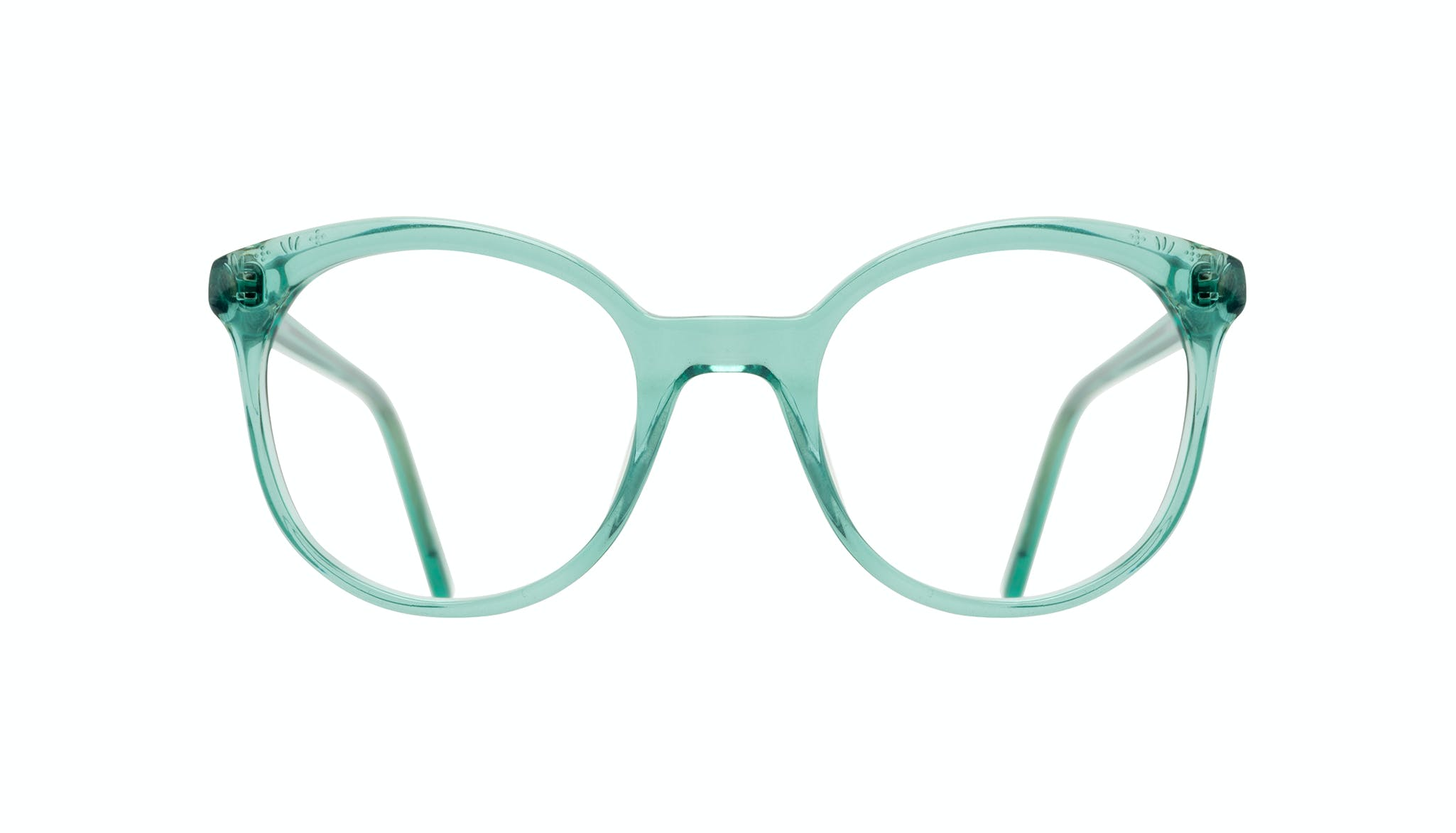 Affordable Fashion Glasses Round Eyeglasses Women Must Emeraude Front