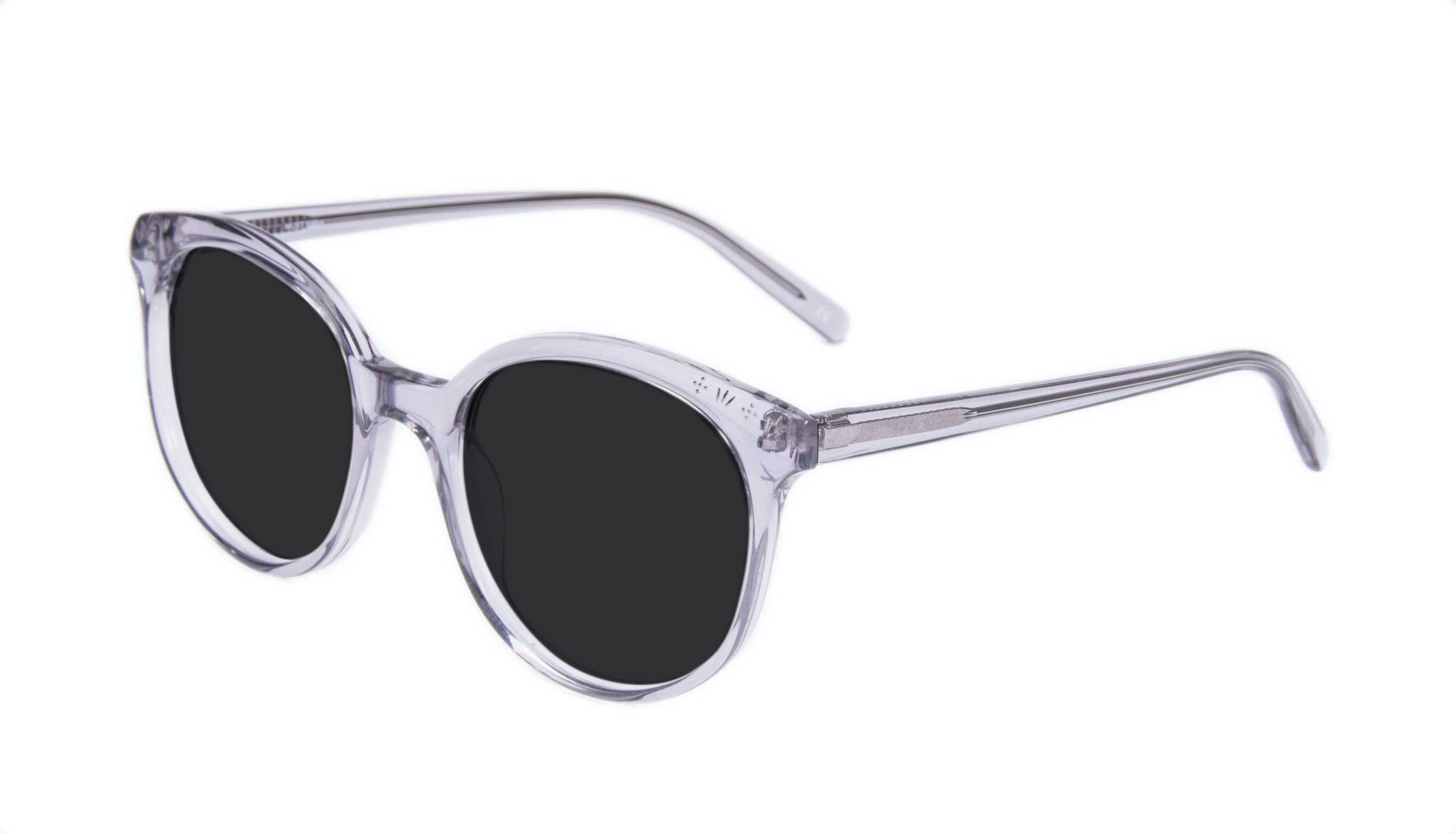 Affordable Fashion Glasses Round Sunglasses Women Must Grey Tilt
