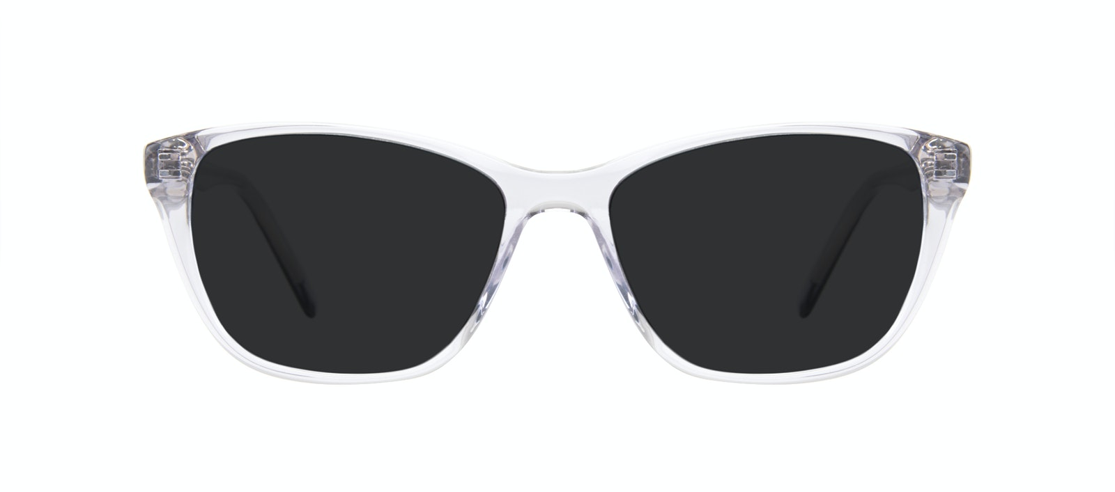 Affordable Fashion Glasses Cat Eye Sunglasses Women Myrtle Petite Cloud Front