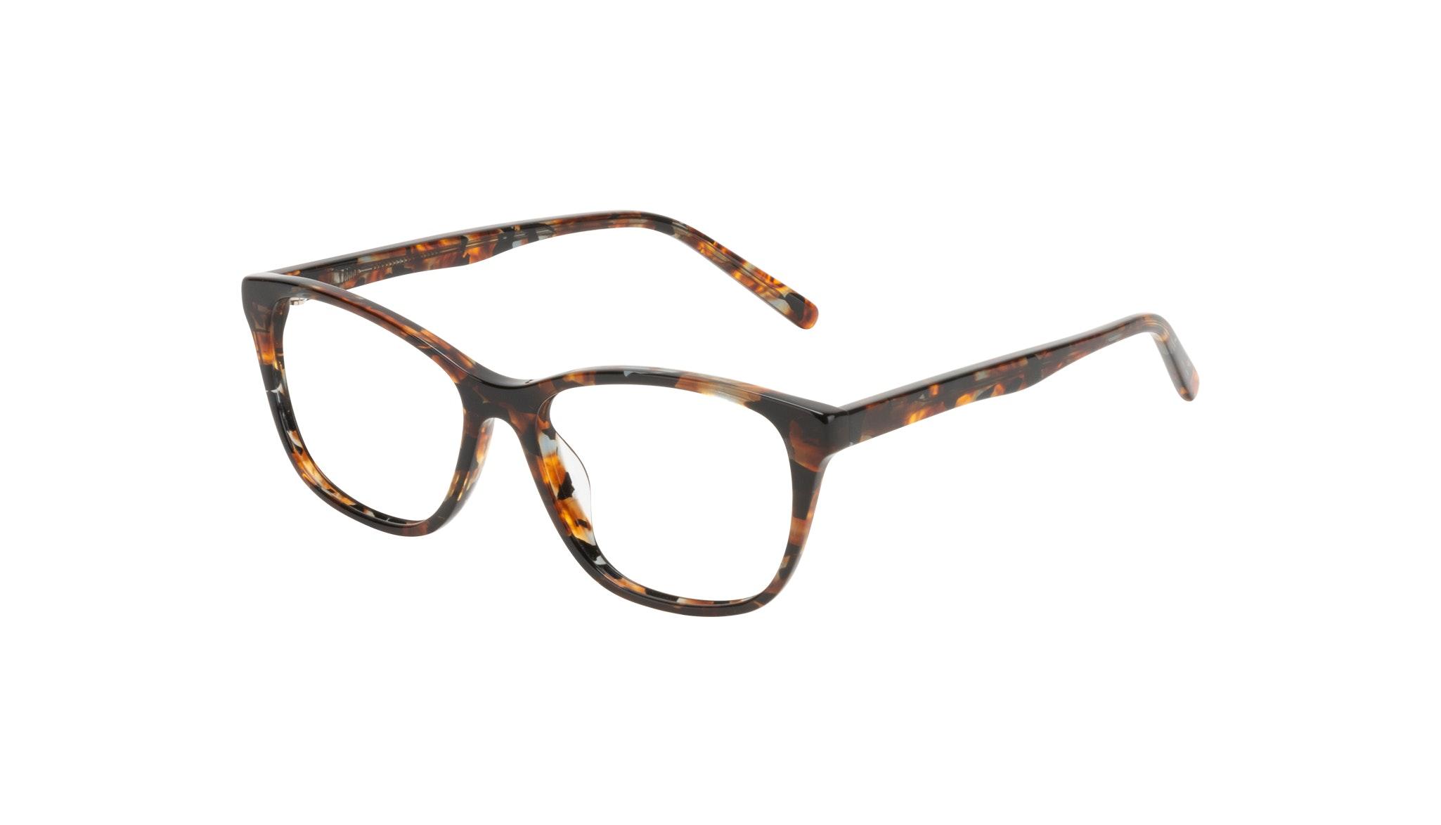 Affordable Fashion Glasses Cat Eye Eyeglasses Women Myrtle Petite Mahogany Tilt