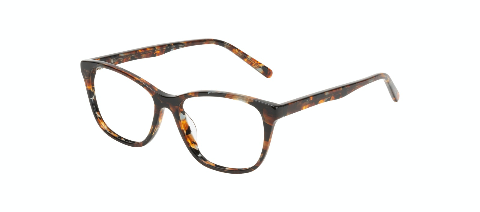 Affordable Fashion Glasses Cat Eye Eyeglasses Women Myrtle Petite Mahogany Tilt