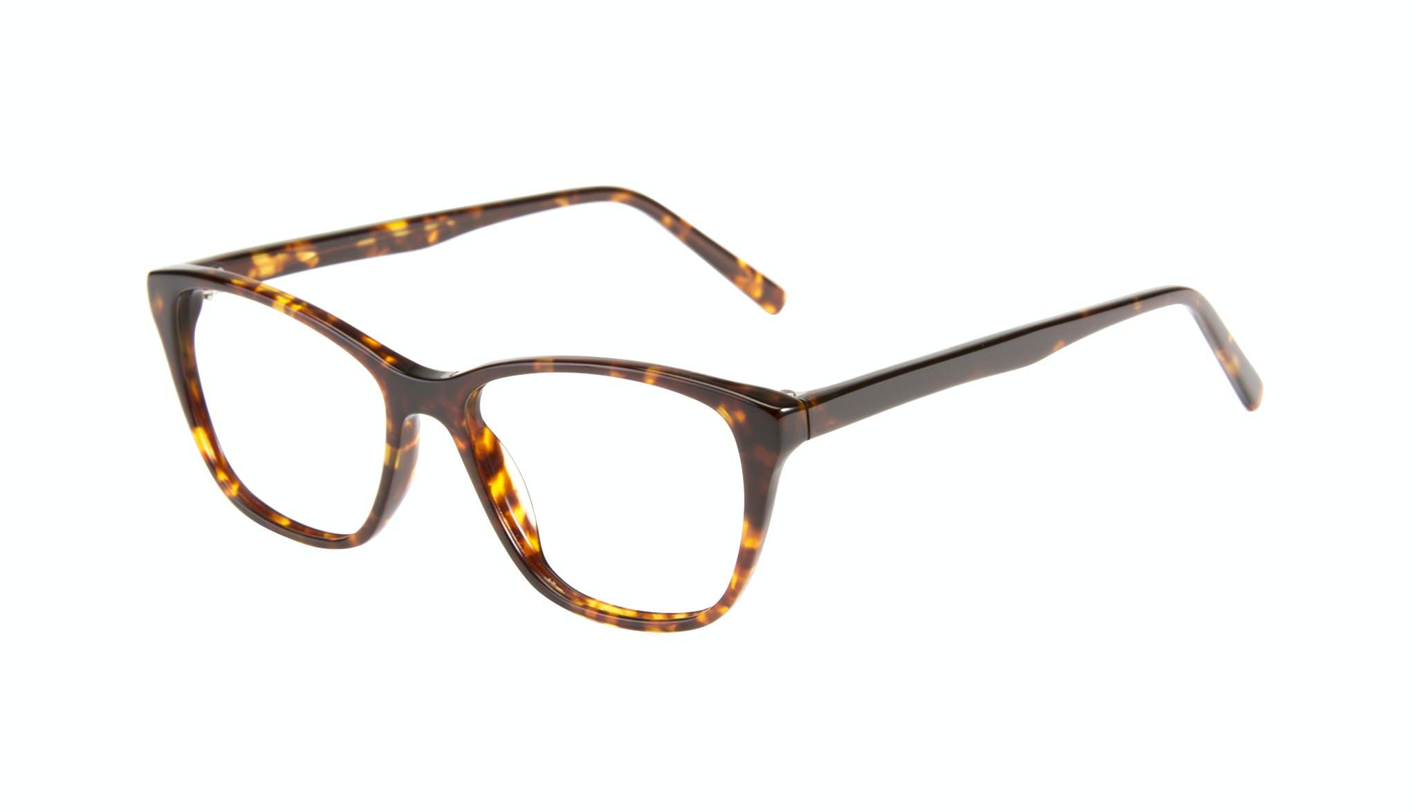 Affordable Fashion Glasses Cat Eye Eyeglasses Women Myrtle Petite Sepia Kiss Tilt