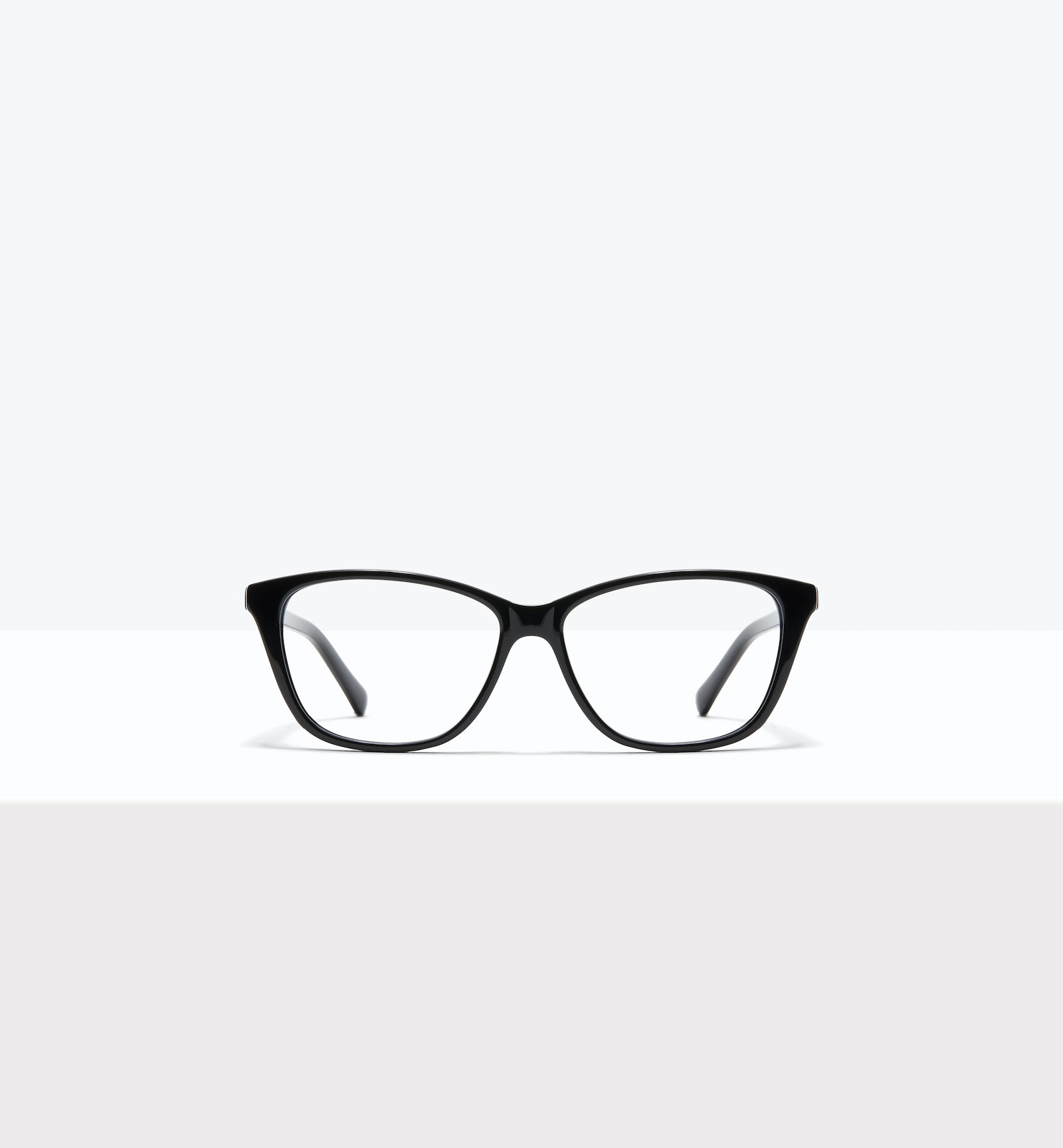 Affordable Fashion Glasses Cat Eye Rectangle Eyeglasses Women Myrtle M Black