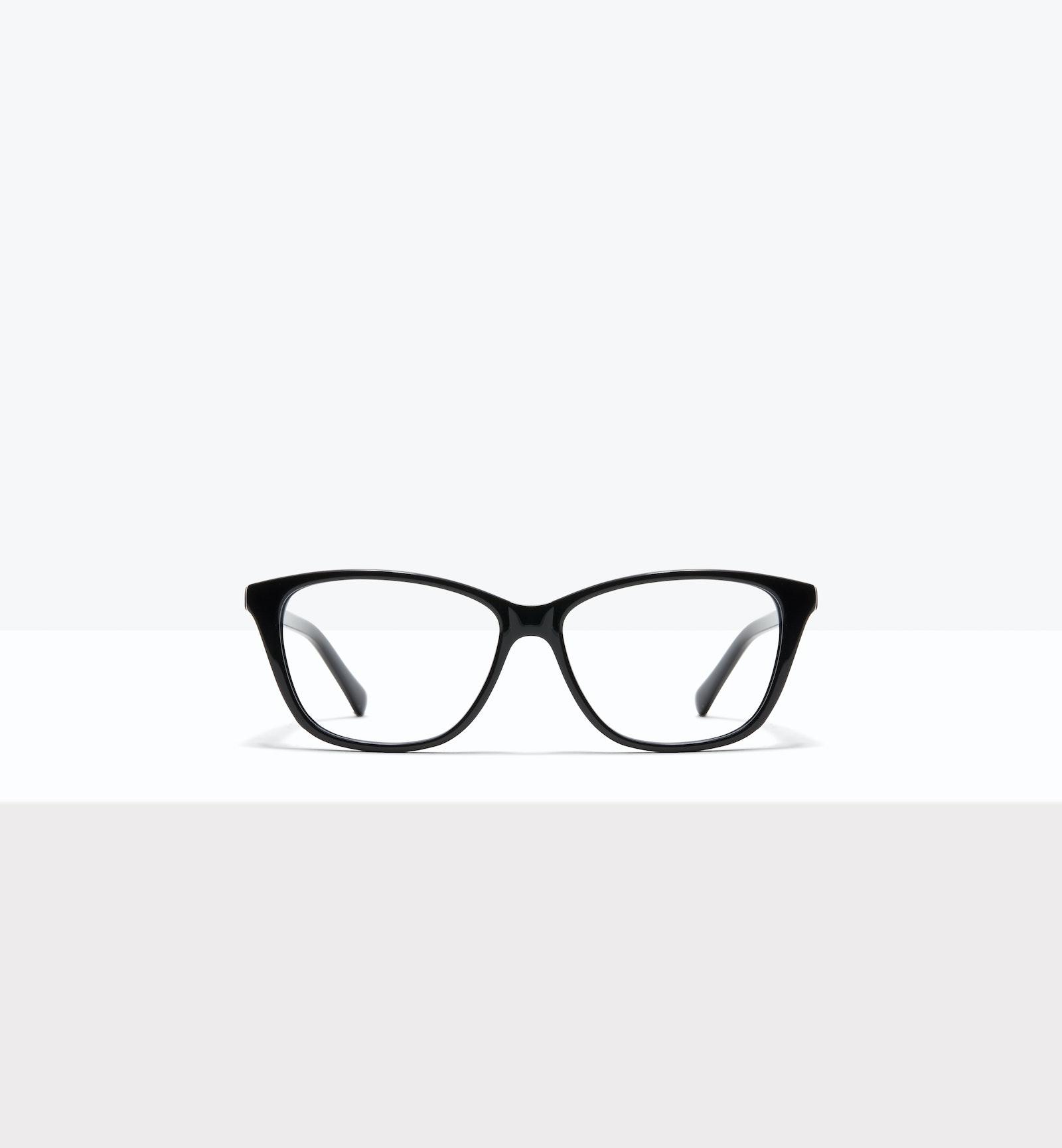 Lunettes tendance Oeil de chat Rectangle Lunettes de vue Femmes Myrtle M Black