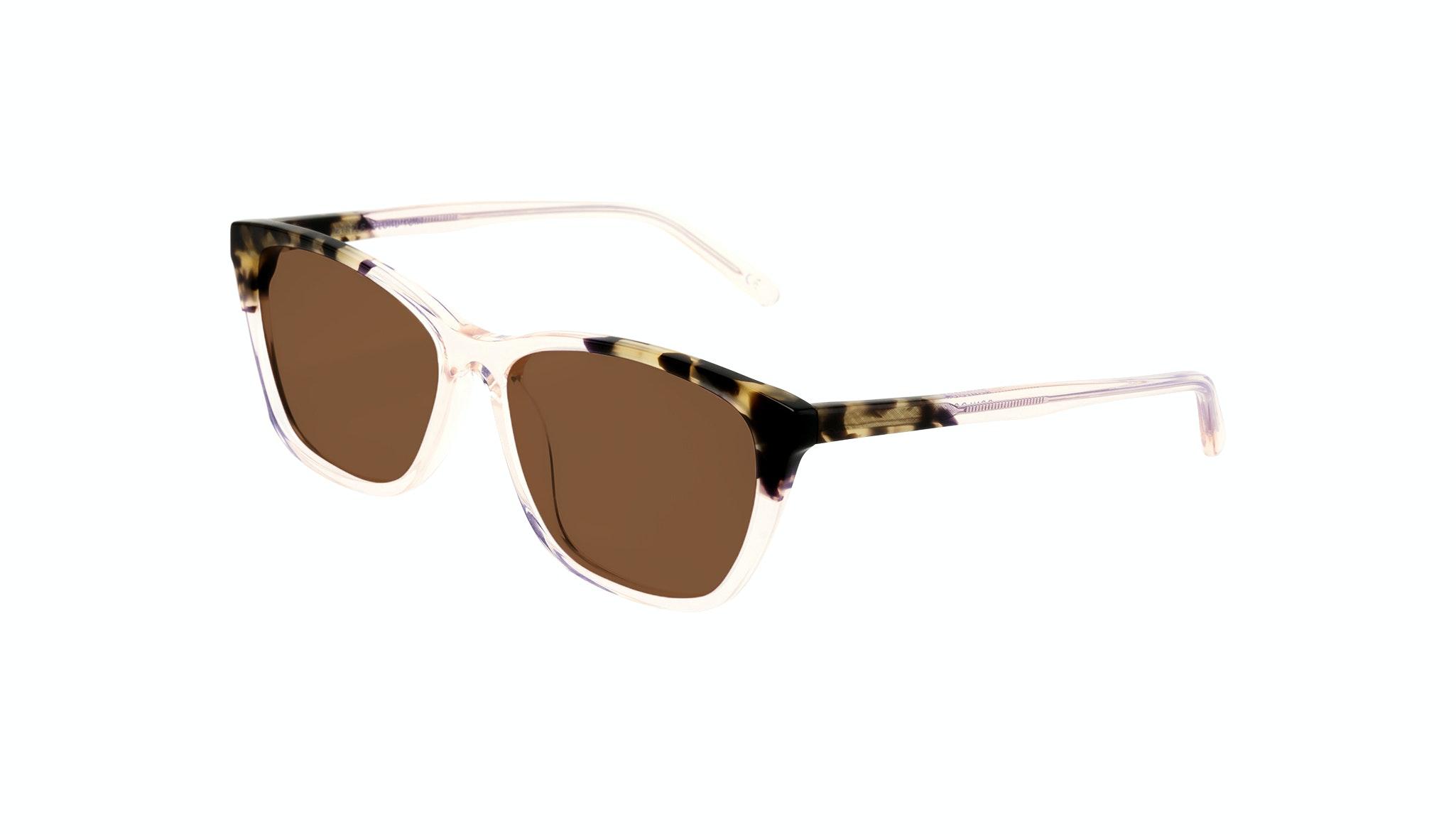 Affordable Fashion Glasses Cat Eye Rectangle Sunglasses Women Myrtle Blond Tortoise Tilt