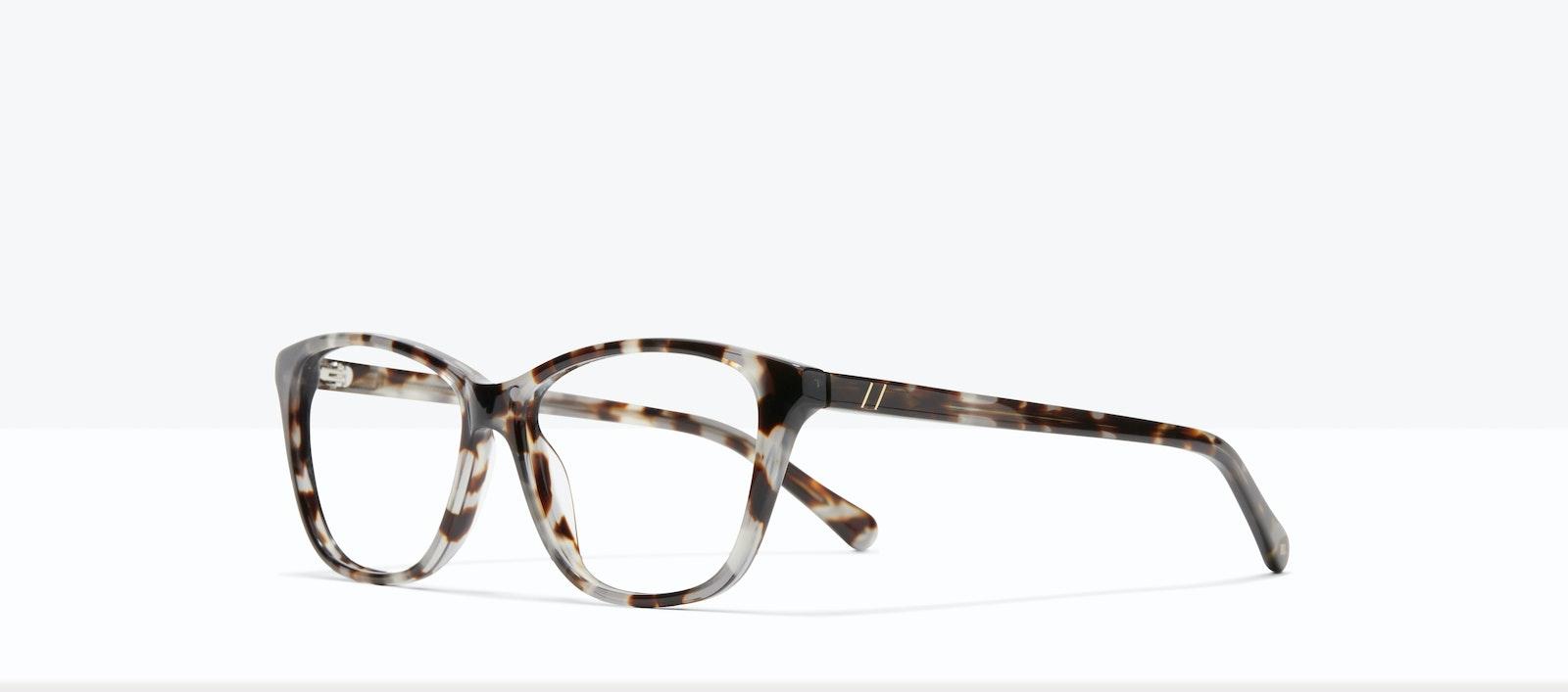 Affordable Fashion Glasses Cat Eye Rectangle Eyeglasses Women Myrtle M Blue Tort Tilt