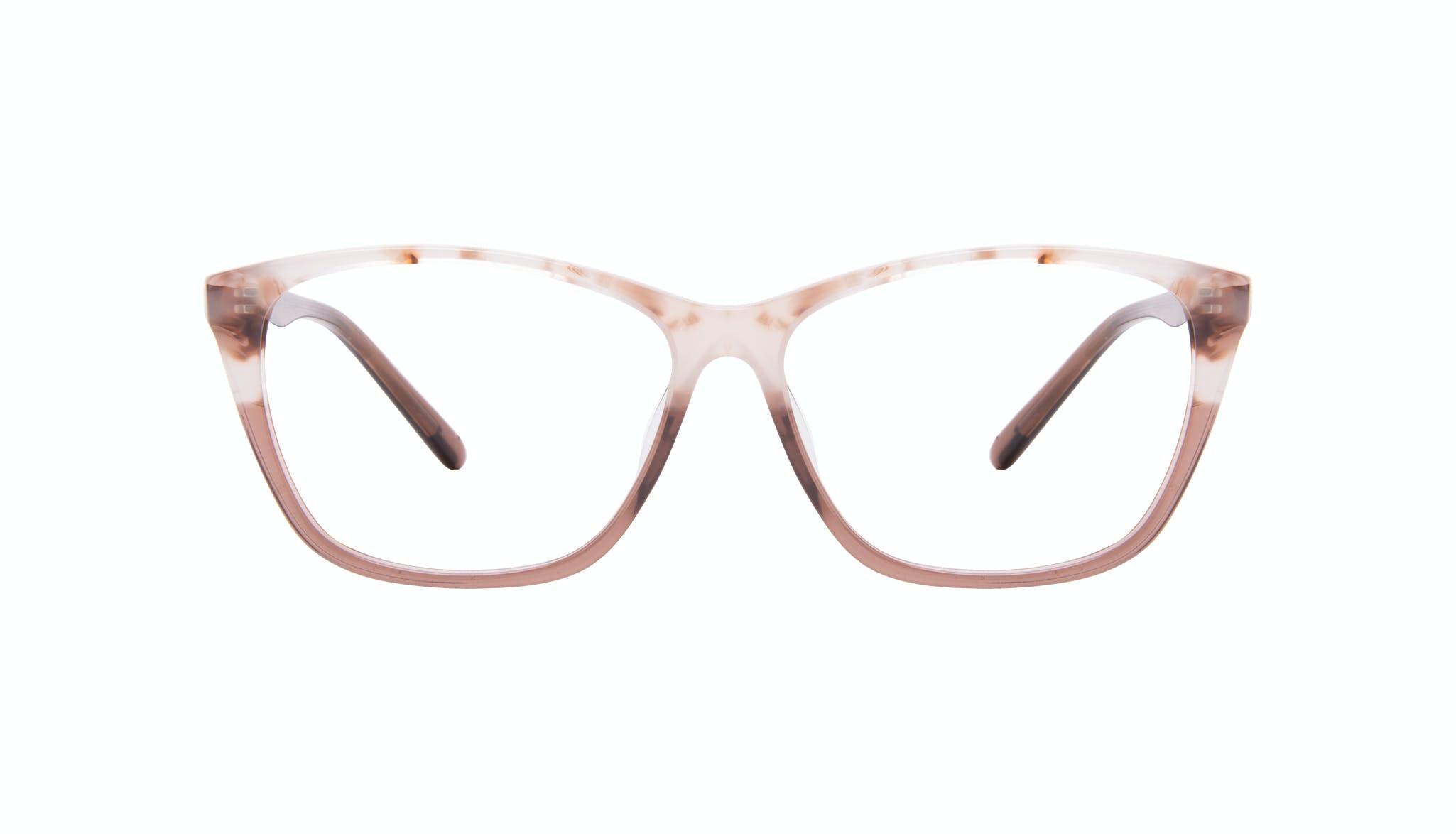 Affordable Fashion Glasses Cat Eye Rectangle Eyeglasses Women Myrtle Frosted Sand Front