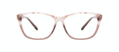 Affordable Fashion Glasses Cat Eye Rectangle Eyeglasses Women Myrtle Frosted Sand Front