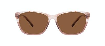 Lunettes tendance Oeil de chat Rectangle Lunettes de soleil Femmes Myrtle Frosted Sand Face