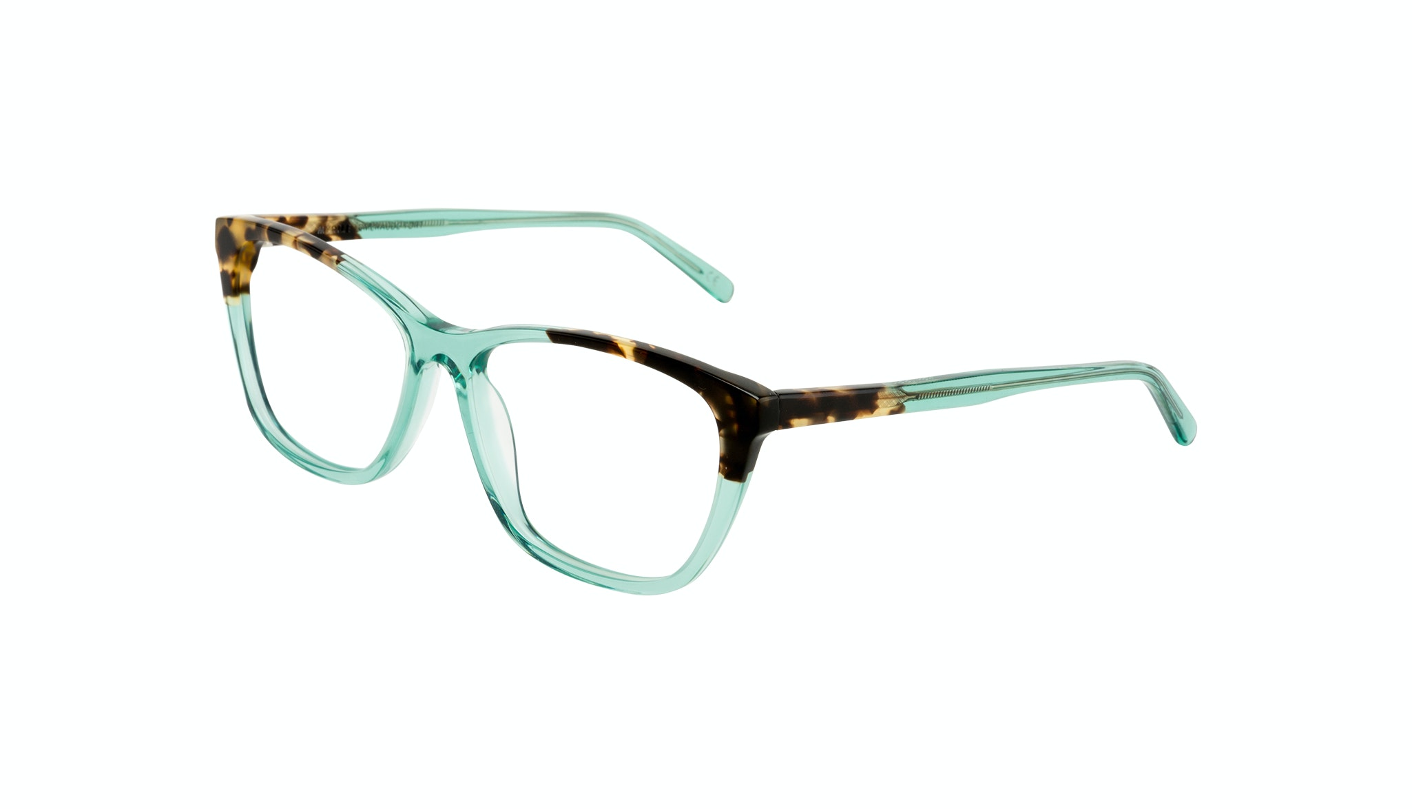 Affordable Fashion Glasses Cat Eye Rectangle Eyeglasses Women Myrtle Emeraude Tort Tilt