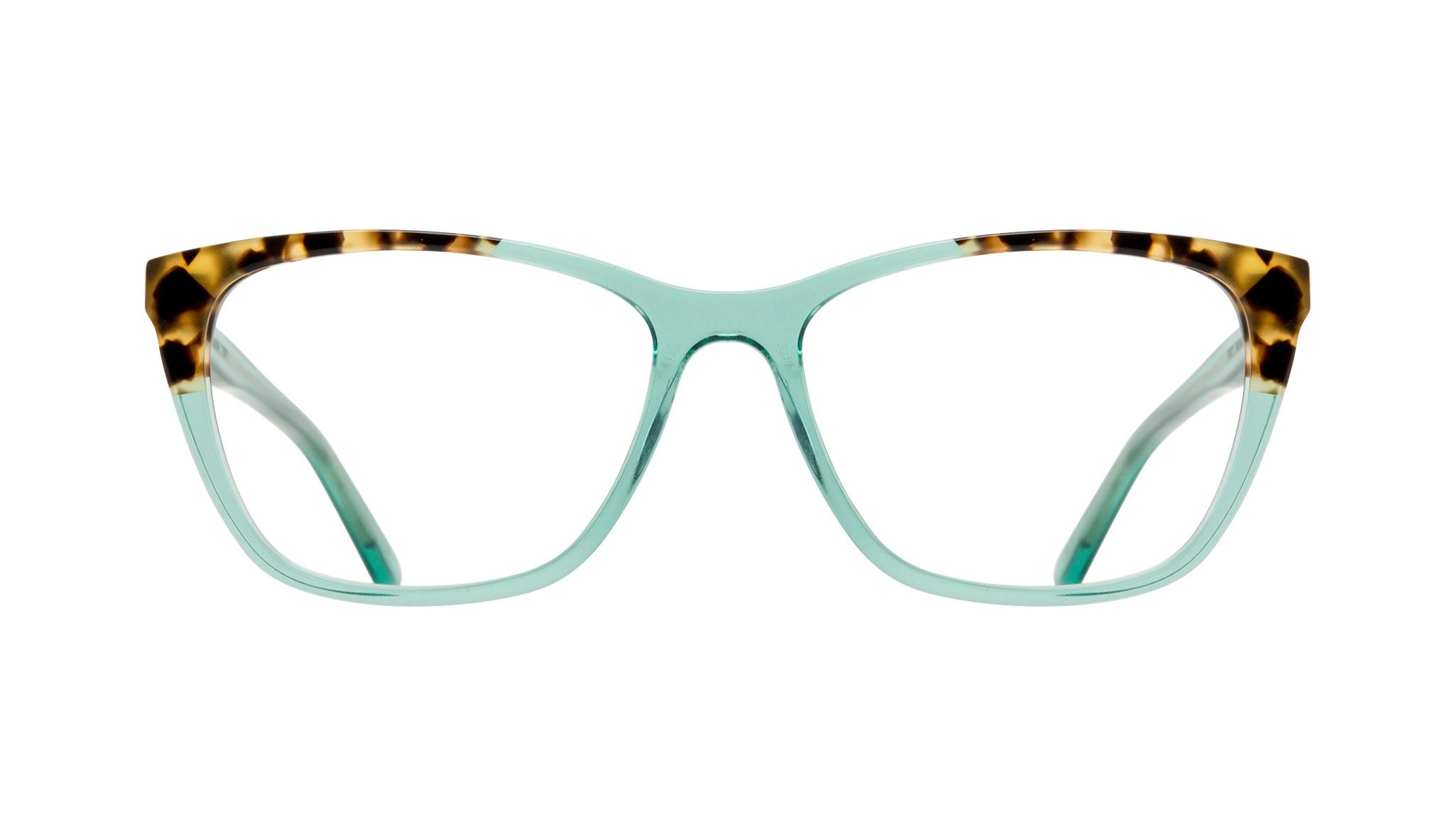 Affordable Fashion Glasses Cat Eye Rectangle Eyeglasses Women Myrtle Emeraude Tort