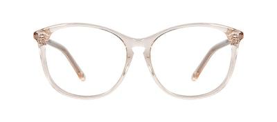 Affordable Fashion Glasses Round Eyeglasses Women Nadine Petite Prosecco Front