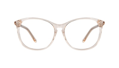 Affordable Fashion Glasses Round Eyeglasses Women Nadine Petite Prosecco Front