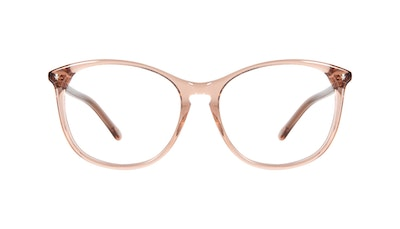 Affordable Fashion Glasses Round Eyeglasses Women Nadine Petite Rose Front