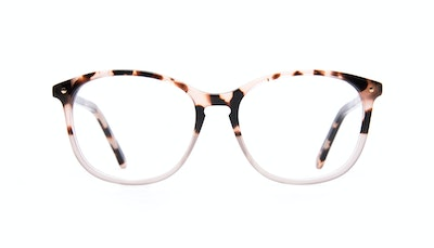 Affordable Fashion Glasses Round Eyeglasses Women Nadine Petite Two Tone Pink Front