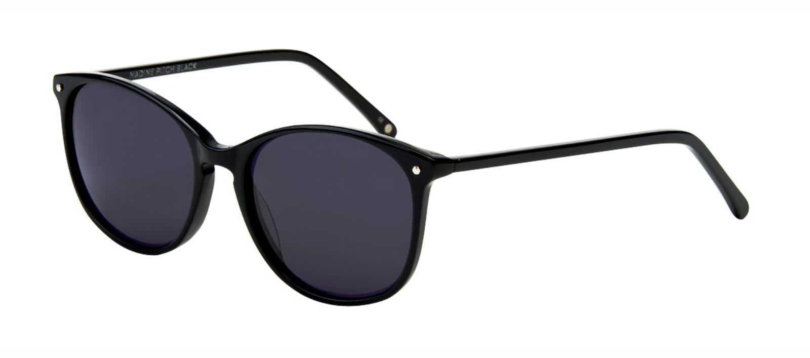 Affordable Fashion Glasses Rectangle Square Round Sunglasses Women Nadine  Pitch Black Tilt 61d500448