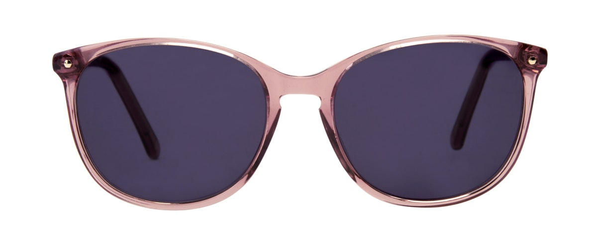 Affordable Fashion Glasses Rectangle Round Sunglasses Women Nadine Rose