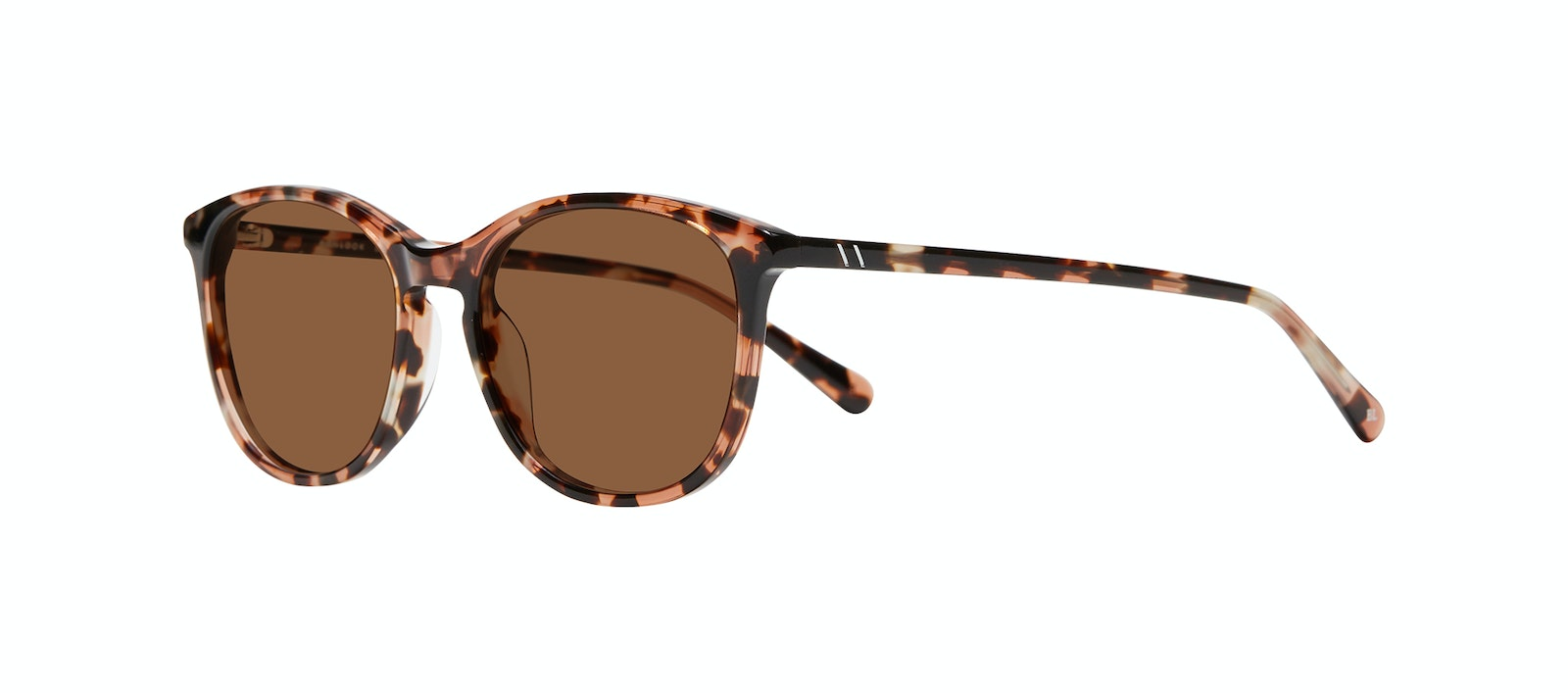 Affordable Fashion Glasses Rectangle Square Round Sunglasses Women Nadine M Pink Tortoise Tilt