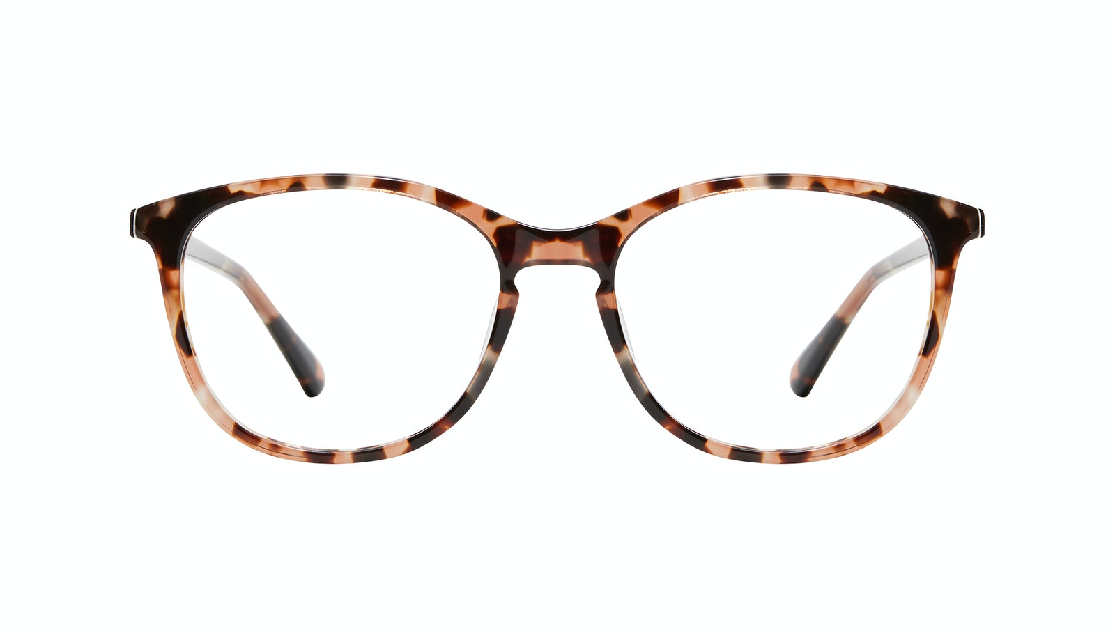 Affordable Fashion Glasses Rectangle Square Round Eyeglasses Women Nadine M Pink Tortoise