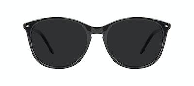 Lunettes tendance Rectangle Carrée Ronde Lunettes de soleil Femmes Nadine Pitch Black Face