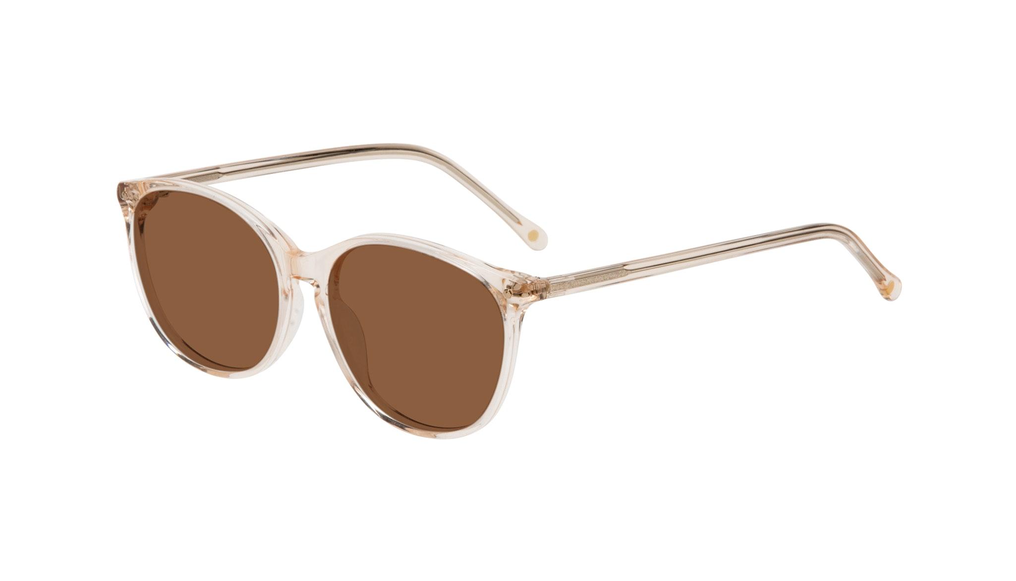Affordable Fashion Glasses Rectangle Square Round Sunglasses Women Nadine Prosecco Tilt