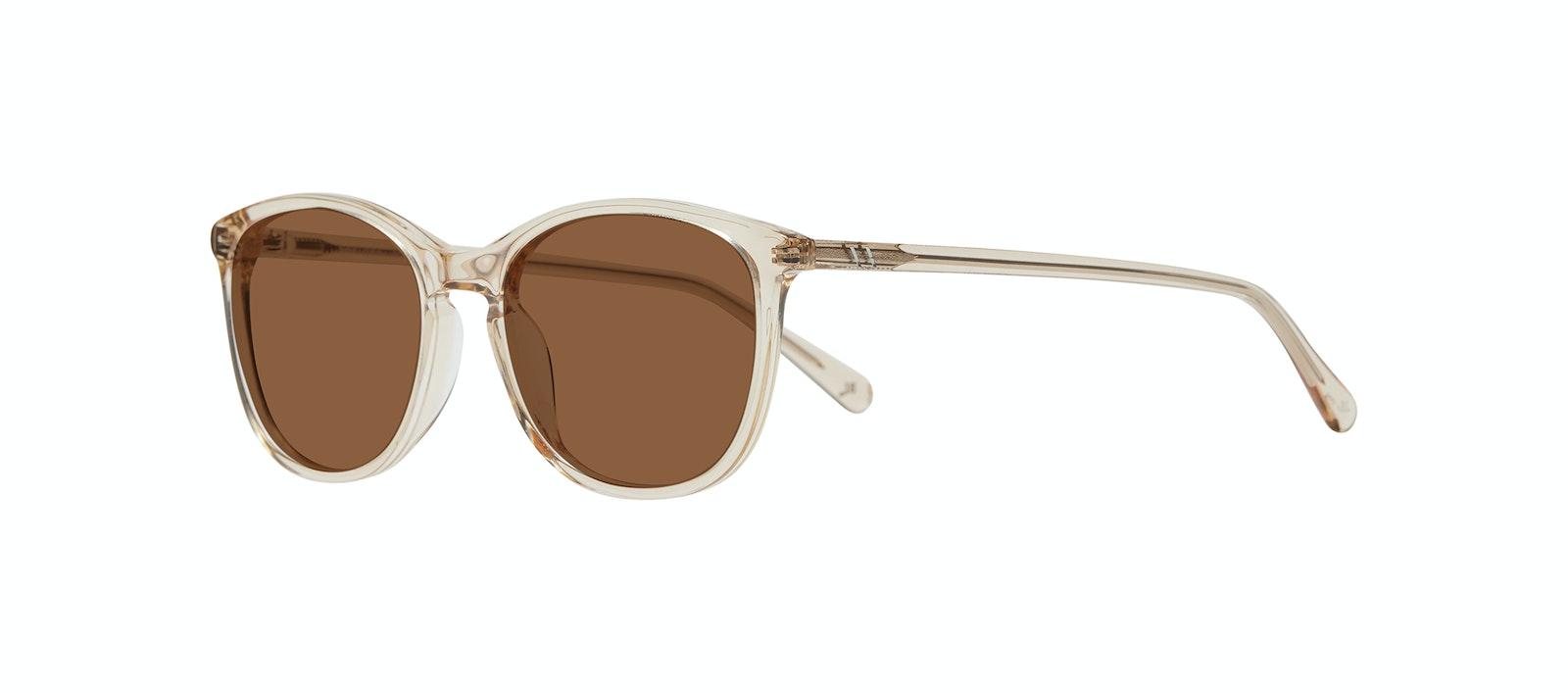 Affordable Fashion Glasses Rectangle Square Round Sunglasses Women Nadine S Prosecco Tilt