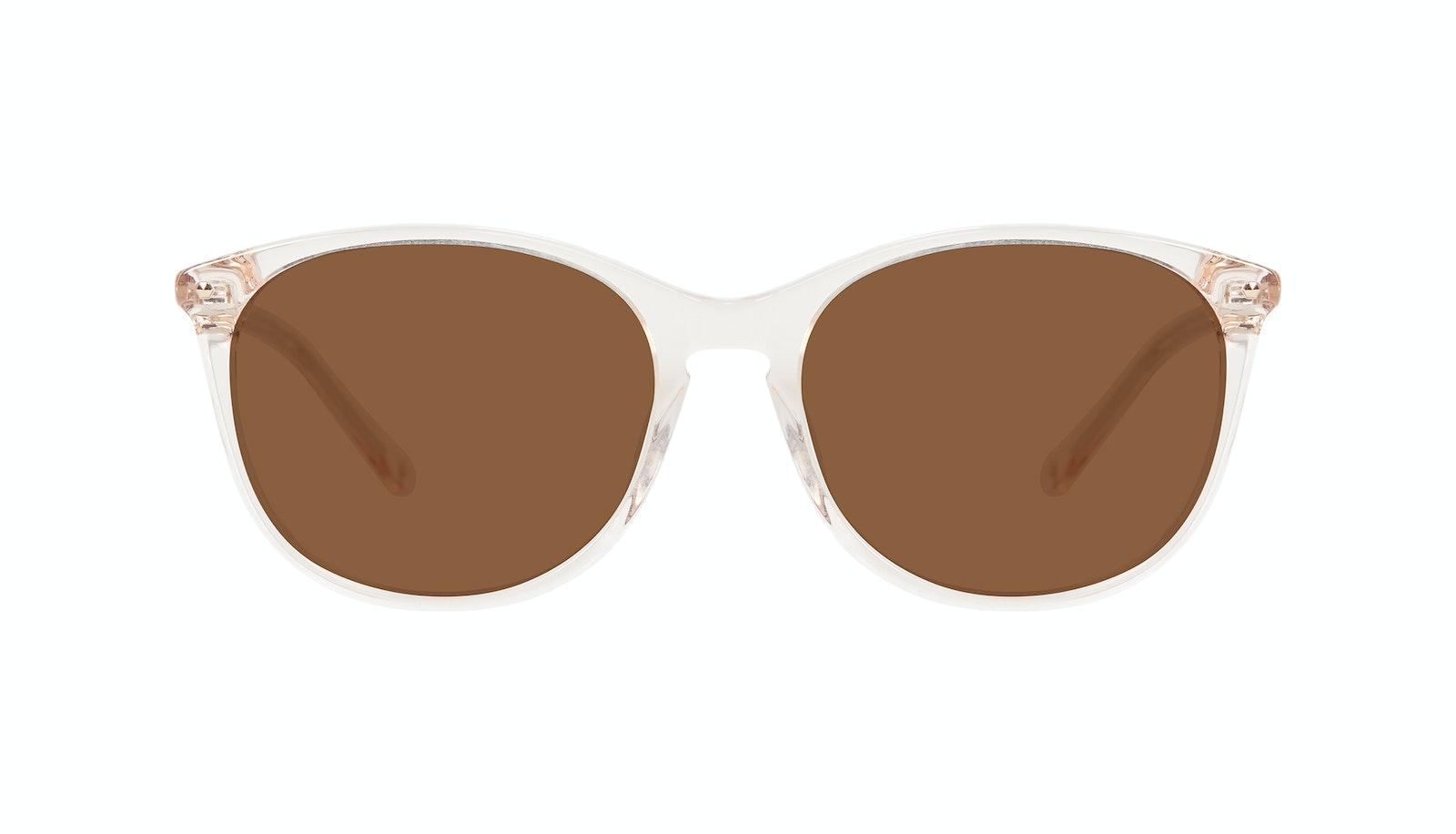 Affordable Fashion Glasses Rectangle Square Round Sunglasses Women Nadine Prosecco