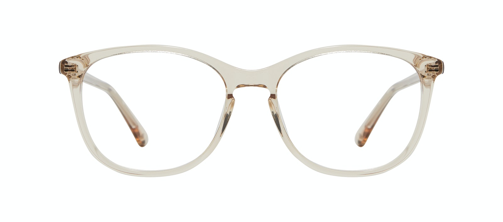 Affordable Fashion Glasses Rectangle Square Round Eyeglasses Women Nadine M Prosecco Front