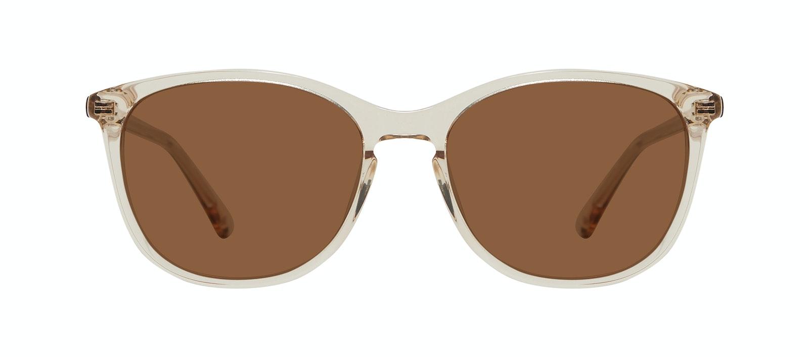 Affordable Fashion Glasses Rectangle Square Round Sunglasses Women Nadine XL Prosecco Front