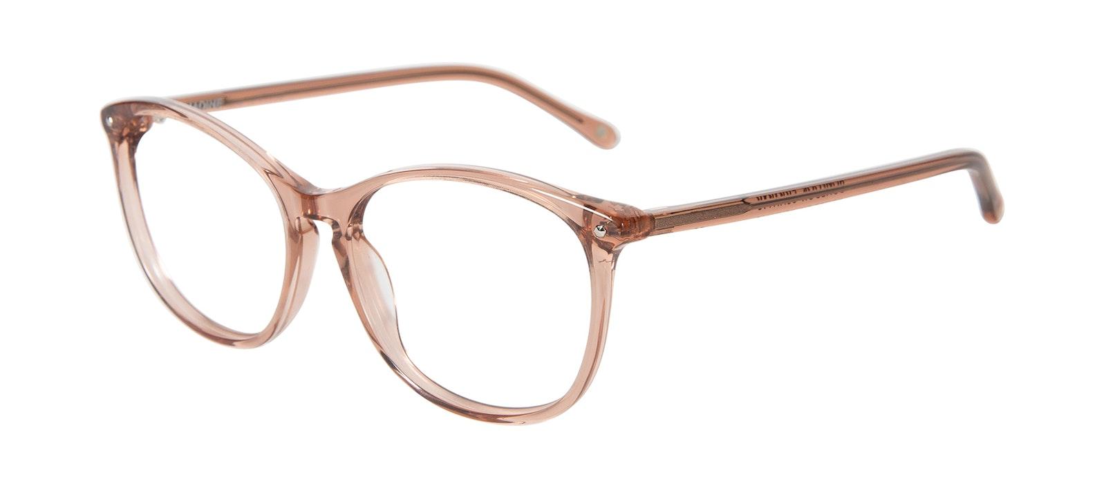 Affordable Fashion Glasses Round Eyeglasses Women Versa Rose Tilt