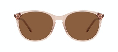 Affordable Fashion Glasses Rectangle Square Round Sunglasses Women Nadine Rose Front