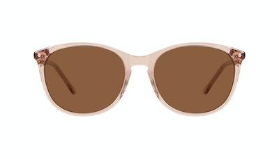 Affordable Fashion Glasses Rectangle Square Round Sunglasses Women Nadine Rose Front